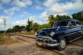 Vintage car in Cuba — Stock Photo