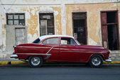 Vintage car in Cuba — Stock Photo