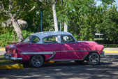 Vintage car in Cuba — Stockfoto