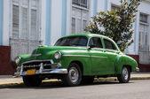 Old car on street in Havana Cuba — Stock Photo
