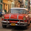 Old retro american car on street in Havana Cuba — Stock Photo #51419677