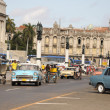Old retro american car on street in Havana Cuba — Stock Photo #51419831