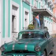 Old retro american car on street in Havana Cuba — Stock Photo #51419875