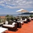 Terrace of the luxury hotel — Stock Photo #13408164