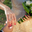 Wedding Ring for Her — Stockfoto