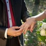 anello di matrimonio per lei — Foto Stock