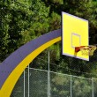 Basket ball board in the park - Stock Photo