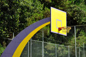 Basket ball board in the park — Stock Photo