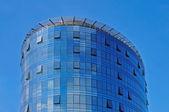 Modern building over blue sky — Stock Photo