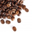 Coffee beans isolated — Stock Photo