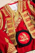 National costume of Montenegro — Stock Photo