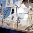 Sailboat deck — Stock Photo #43460513