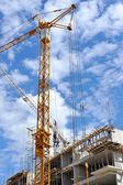 Building site detail — Stock Photo