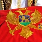 ������, ������: Montenegrin flag on pillow