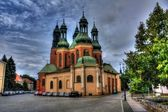Cathedral in Poznan, Poland — Stock Photo