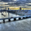 Stock Photo: View from London Eye