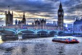 View from London Eye — Stock Photo