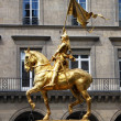 Statue of Saint Joan of Arc — Stock Photo