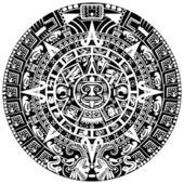 Calendario maya — Vettoriale Stock