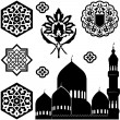 Islamic ornaments — Stock Vector