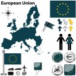 European Union — Stock Vector