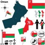 Постер, плакат: Map of Oman