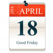 Good Friday — Stock Vector