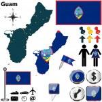 Постер, плакат: Map of Guam