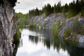 Marble quarry in Karelia, Russia — Stock Photo
