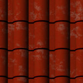 Seamless Texture Roofing Material — Stock Photo