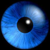текстура голубые глаза — Стоковое фото