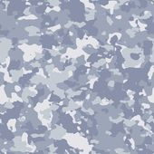Seamless Texture blue camouflage material — Stock Photo