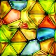 Seamless Texture stained-glass window — Lizenzfreies Foto