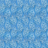 Seamless texture blue wallpaper with a pattern — Stock Photo
