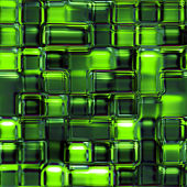 Seamless Texture abstract green squares — Stock Photo