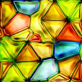Seamless Texture stained-glass window — Stock Photo