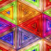 Seamless Texture kaleidoscope — Stock Photo