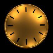 Clock without arrows — ストック写真