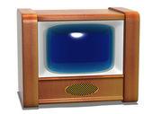 Retro tv — Foto Stock