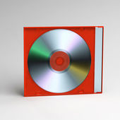 CD box — Stock fotografie