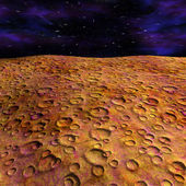 Surface of the mars — Stock Photo