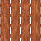 A fence made of boards seamless texture — Stock Photo