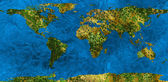 An abstract map of the earth — Stock Photo