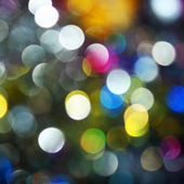 New Year Holiday background. Unfocused lights. — Stock Photo