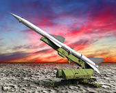 Missile defense — Stock Photo