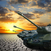 Tanks — Stock Photo
