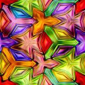 Dikişsiz doku soyut parlak parlak renkli geometrik şekiller — Stok fotoğraf