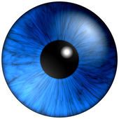 Texture blue eyes — Stock Photo