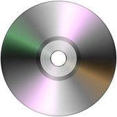 CD isolated on White — Stock Photo