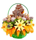 Fruit bouquet — Stock Photo